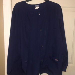 Cherokee Tops - Scrub jacket. Navy